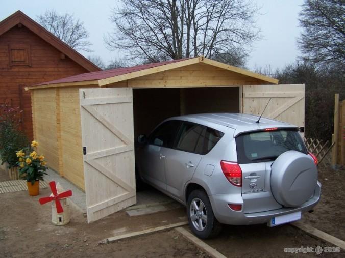 garage bois 19 m2 dorna x m bouvara do3554n bouvara des prix attractifs avec la. Black Bedroom Furniture Sets. Home Design Ideas