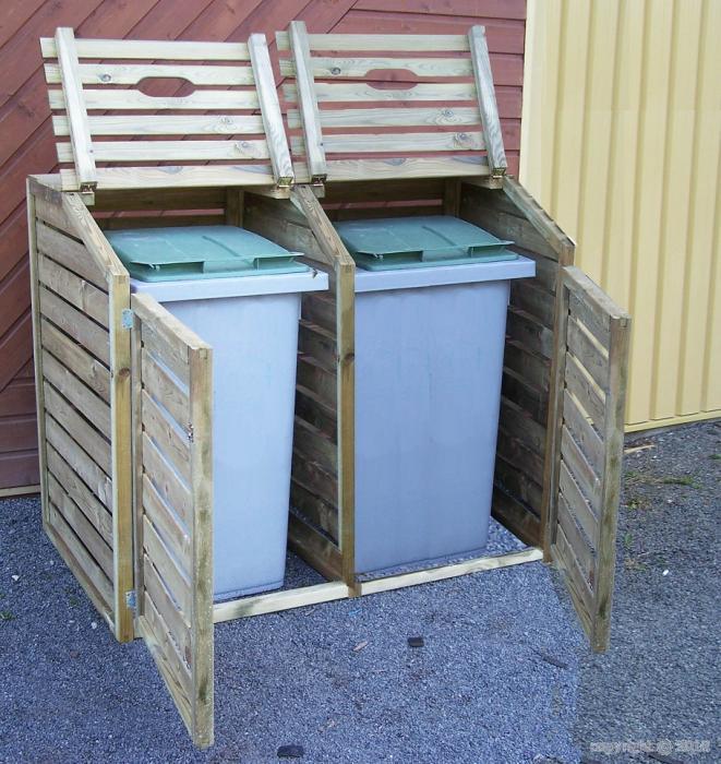 abri poubelles bouvara cp15090 bouvara des prix. Black Bedroom Furniture Sets. Home Design Ideas
