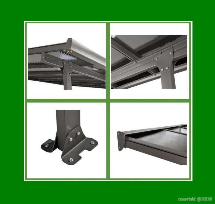 carport toit terrasse en aluminium 4x3 m bouvara tt3042al bouvara des prix attractifs avec la. Black Bedroom Furniture Sets. Home Design Ideas