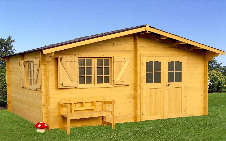 abri chalet nancy lorraine luxe 5x4m avec double vitrage bouvara abris de. Black Bedroom Furniture Sets. Home Design Ideas
