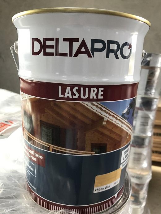 lasure ch ne clair pot de 5 litres bouvara deltapro abris de jardin en bois pas cher bouvara. Black Bedroom Furniture Sets. Home Design Ideas